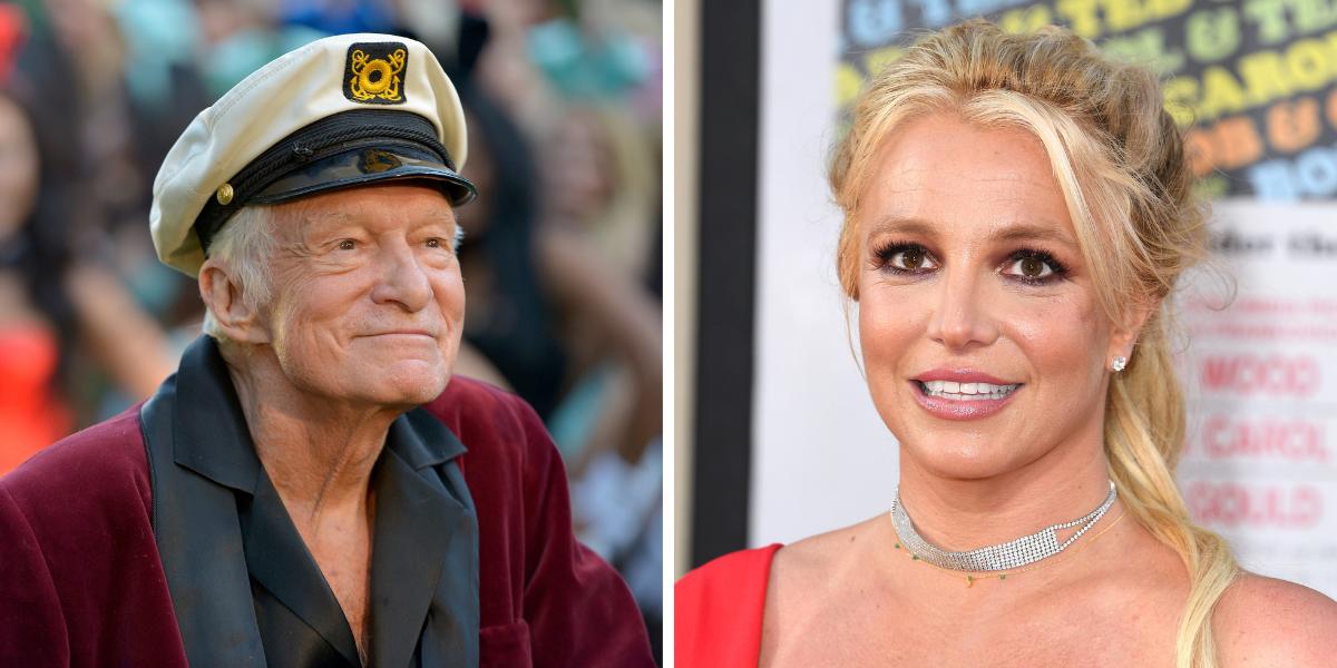 How Much Money Did Britney Spears Demand To Work For Hugh Hefner?