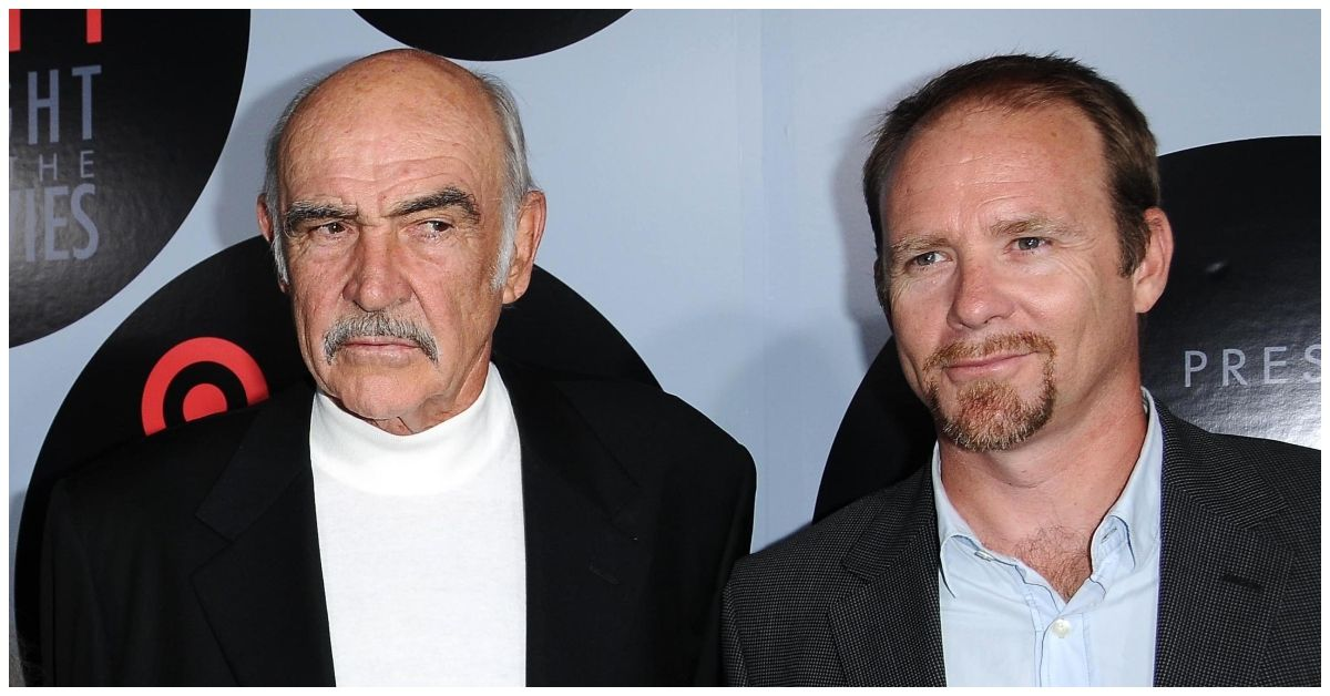 Here's What Sean Connery's Son Is Doing Now