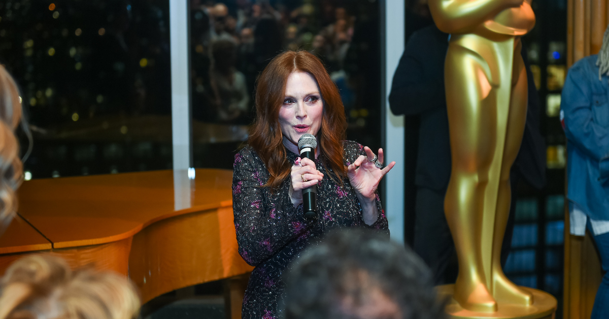 Here's Why Julianne Moore Was Fired From An Oscar-Nominated Role