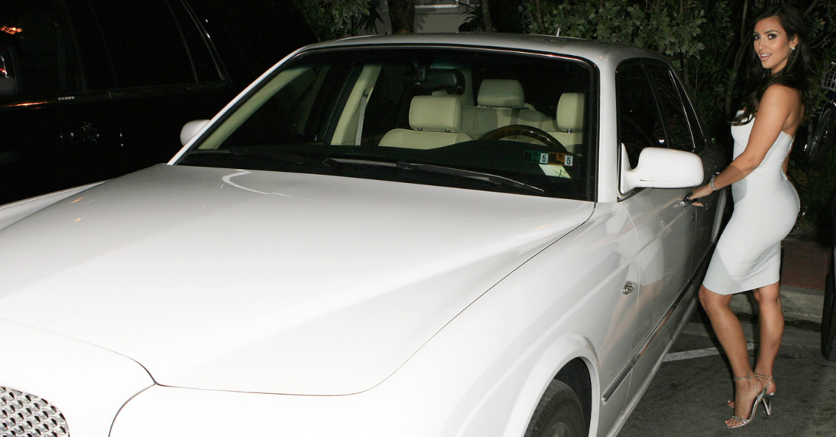 How Much Was Kim Kardashian's Bentley She Infamously Claimed Her Sisters Couldn't Afford?