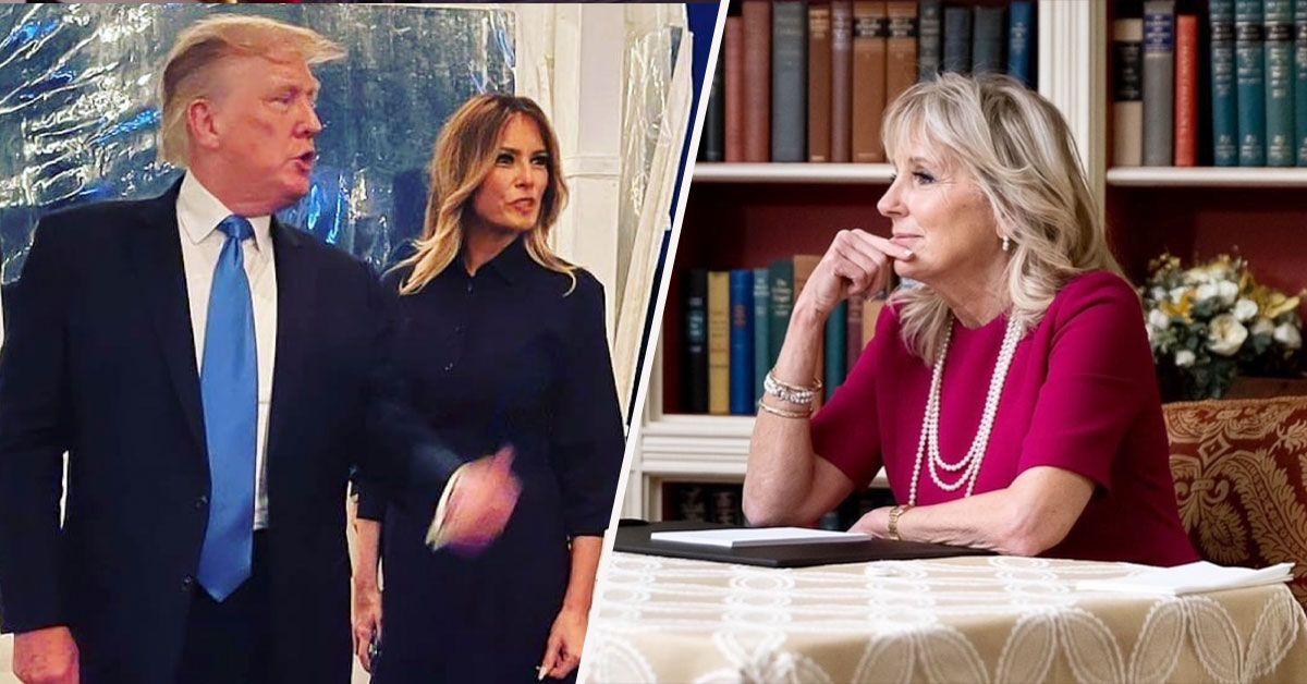 Fans Think Melania Trump Will Be Jealous To Learn Jill Biden Is On The Cover Of Vogue