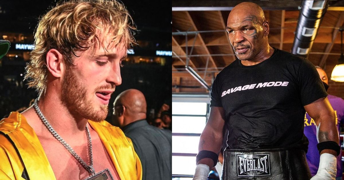 Twitter Dunks On Logan Paul After Claiming He Can Beat Mike Tyson