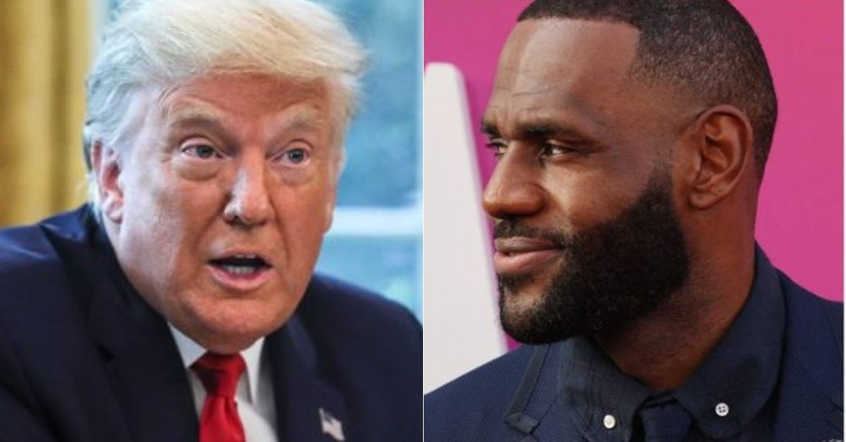 Donald Trump Dragged Online Over Bizarre Rant About Lebron James