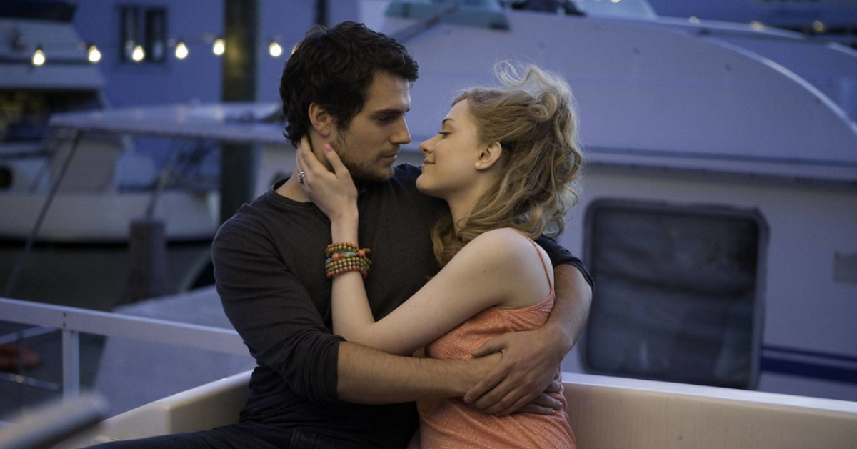 This Actress Felt Uncomfortable Kissing Henry Cavill